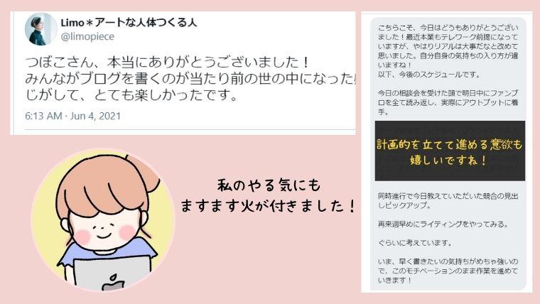 つぼこのリアルブログ相談会@練馬口コミ